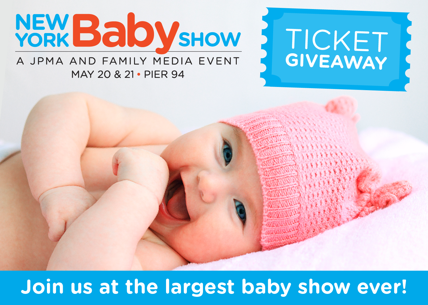 giveaway new york baby show tickets