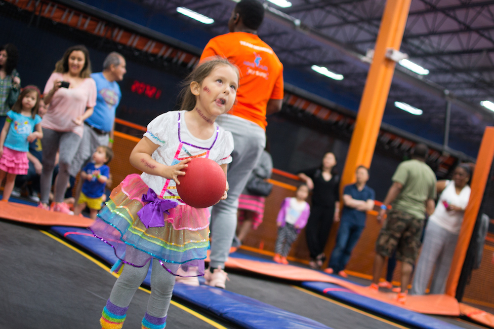throw your party at sky zone