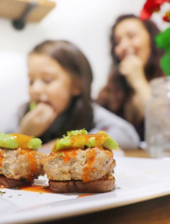 Fast and easy dinner recipes -- Loaded Taco Sweet Potato Sliders